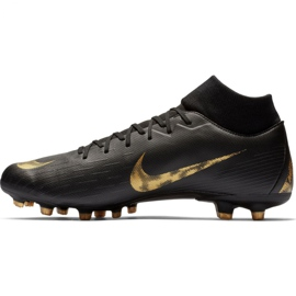 Buty piłkarskie Nike Mercurial Superfly 6 Academy FG/MG M AH7362-077 czarne czarne 1