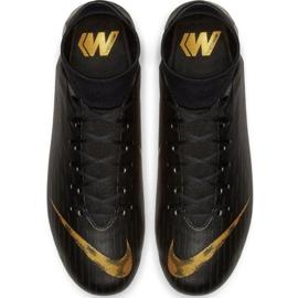Buty piłkarskie Nike Mercurial Superfly 6 Academy FG/MG M AH7362-077 czarne czarne 2
