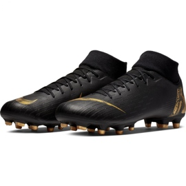 Buty piłkarskie Nike Mercurial Superfly 6 Academy FG/MG M AH7362-077 czarne czarne 3