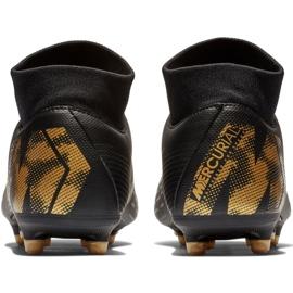 Buty piłkarskie Nike Mercurial Superfly 6 Academy FG/MG M AH7362-077 czarne czarne 4