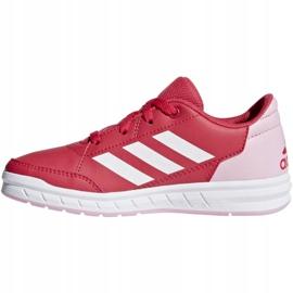 Buty adidas AltaSport K Jr D96866 czerwone 1