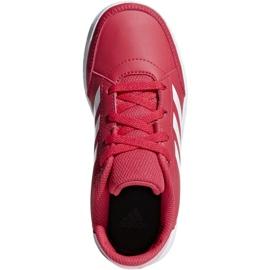 Buty adidas AltaSport K Jr D96866 czerwone 2