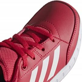 Buty adidas AltaSport K Jr D96866 czerwone 3