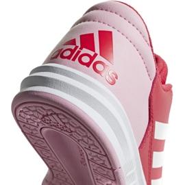 Buty adidas AltaSport K Jr D96866 czerwone 4