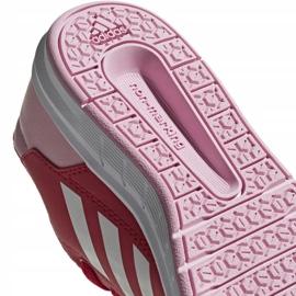 Buty adidas AltaSport K Jr D96866 czerwone 5