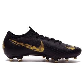 Buty piłkarskie Nike Mercurial Vapor 12 Elite Ag Pro M AH7379-077 czarne czarne 1