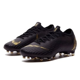 Buty piłkarskie Nike Mercurial Vapor 12 Elite Ag Pro M AH7379-077 czarne czarne 2