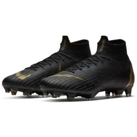 Buty piłkarskie Nike Mercurial Superfly 6 Elite Fg M AH7365-077 czarne czarne 3