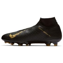 Buty piłkarskie Nike Phantom Vsn Elite Df Fg M AO3262-077 czarne czarne 1