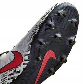 Buty piłkarskie Nike Mercurial Vapor 12 Club Neymar Mg M AO3129-170 białe wielokolorowe 5