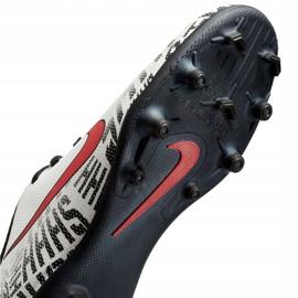 Buty piłkarskie Mercurial Nike Neymar Vapor 12 Club Fg Jr AV4762-170 białe wielokolorowe 5