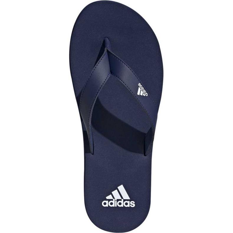 Granatowe Klapki adidas Eezay Flip Flop F35028 zdjęcie 2