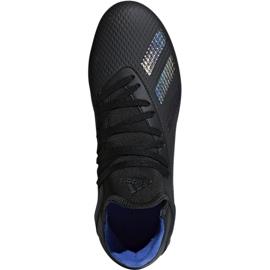 Buty piłkarskie adidas X 18.3 Fg Jr D98184 czarne wielokolorowe 1