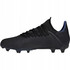 Buty piłkarskie adidas X 18.3 Fg Jr D98184 czarne wielokolorowe 2