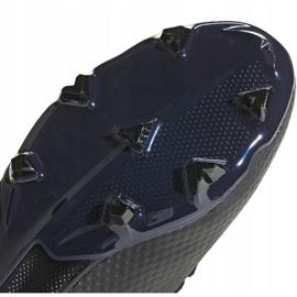 Buty piłkarskie adidas X 18.3 Fg Jr D98184 czarne wielokolorowe 3