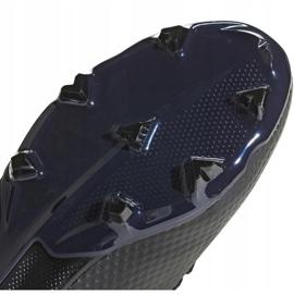 Buty piłkarskie adidas X 18.3 Fg Jr D98184 czarne wielokolorowe 5
