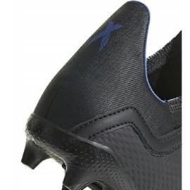 Buty piłkarskie adidas X 18.3 Fg Jr D98184 czarne wielokolorowe 6