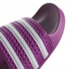 Klapki adidas Originals Adilette W CG6539 białe fioletowe 1