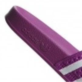 Klapki adidas Originals Adilette W CG6539 białe fioletowe 3