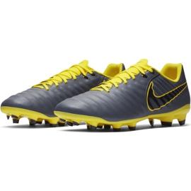 Buty piłkarskie Nike Tiempo Legend 7 Academy Fg M AH7242-070 szare wielokolorowe 6