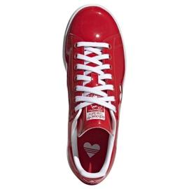 Buty adidas Originals Stan Smith W G28136 czerwone 1