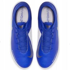 Buty piłkarskie Nike Phantom Vsn Academy Tf M AO3223-410 niebieskie wielokolorowe 2
