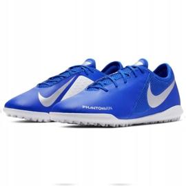 Buty piłkarskie Nike Phantom Vsn Academy Tf M AO3223-410 niebieskie wielokolorowe 3