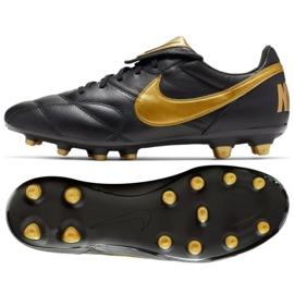 Buty piłkarskie Nike The Nike Premier Ii Fg M 917803-077 czarne czarne 2