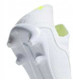 Buty piłkarskie adidas X 18.3 Fg Jr BB9372 białe wielokolorowe 5