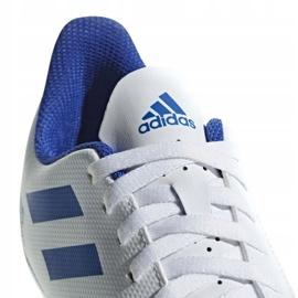 Buty piłkarskie adidas Predator 19.4 FxG Jr CM8542 białe wielokolorowe 3