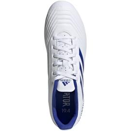 Buty piłkarskie adidas Predator 19.4 FxG M D97959 białe wielokolorowe 2