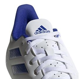 Buty piłkarskie adidas Predator 19.4 FxG M D97959 białe wielokolorowe 3