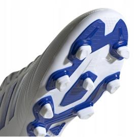 Buty piłkarskie adidas Predator 19.4 FxG M D97959 białe wielokolorowe 5