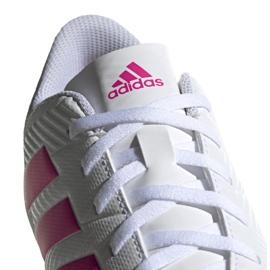 Buty piłkarskie adidas Nemeziz 18.4 FxG M D97990 białe wielokolorowe 3