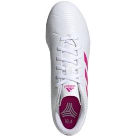 Buty piłkarskie adidas Nemeziz 18.4 Tf M D97993 białe wielokolorowe 1