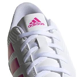 Buty piłkarskie adidas Nemeziz 18.4 Tf M D97993 białe wielokolorowe 3