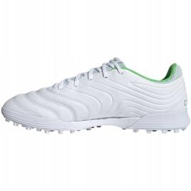 Buty piłkarskie adidas Copa 19.3 Tf M D98064 białe białe 2