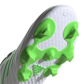 Buty piłkarskie adidas Copa 19.4 Fg M D98069 białe biały, zielony 5