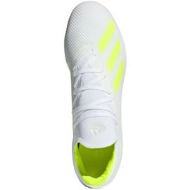 Buty piłkarskie adidas X 18.3 Fg M BB9368 białe białe 1