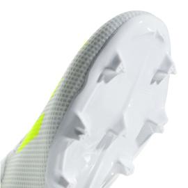 Buty piłkarskie adidas X 18.3 Fg M BB9368 białe białe 4