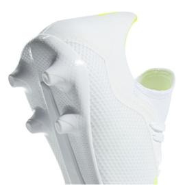 Buty piłkarskie adidas X 18.3 Fg M BB9368 białe białe 5