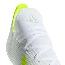 Buty piłkarskie adidas X 18.3 Fg M BB9368 białe białe 6