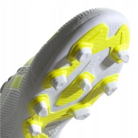 Buty piłkarskie adidas X 18.4 Fg M BB9377 białe wielokolorowe 4