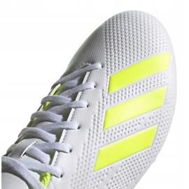 Buty piłkarskie adidas X 18.4 Fg M BB9377 białe wielokolorowe 5