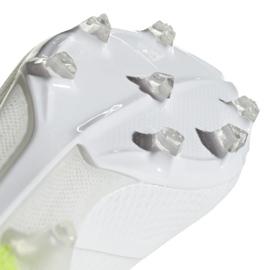 Buty piłkarskie adidas X 18.2 Fg M BB9364 białe białe 4