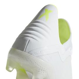 Buty piłkarskie adidas X 18.2 Fg M BB9364 białe białe 5