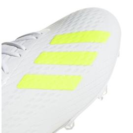 Buty piłkarskie adidas X 18.2 Fg M BB9364 białe białe 6
