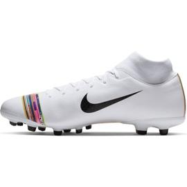 Buty piłkarskie Nike Mercurial Superfly 6 Academy Mg M AJ3541-109 białe wielokolorowe 2