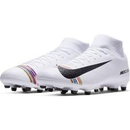 Buty piłkarskie Nike Mercurial Superfly 6 Academy Mg M AJ3541-109 białe wielokolorowe 3