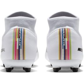 Buty piłkarskie Nike Mercurial Superfly 6 Academy Mg M AJ3541-109 białe wielokolorowe 4